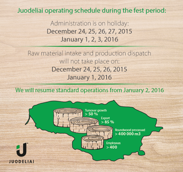 Juodeliai operating schedule during the fest period
