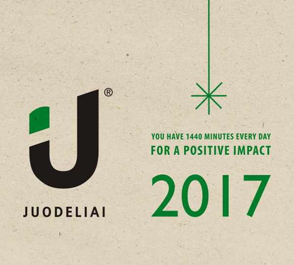 You have 1 440 minutes every day for a positive impact 2017